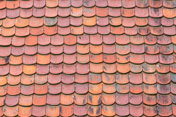 types of roof shingles clay material
