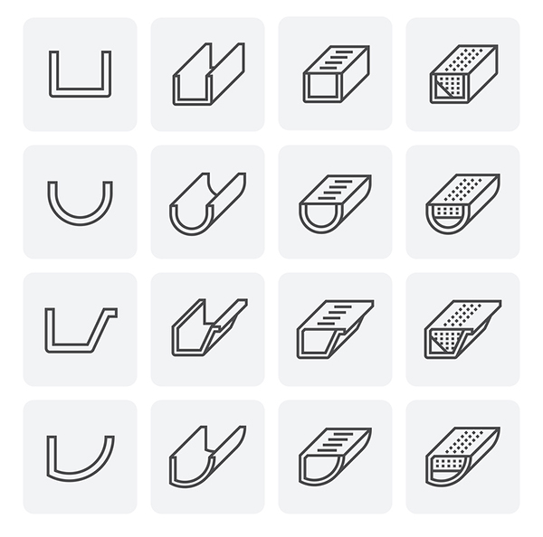 gutter icons